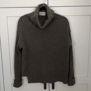 It's Sweater time! Babaton taupe comfy sweater